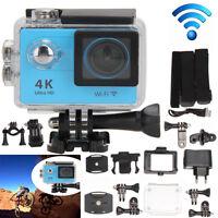 "H9SE 4K 1080P WIFI FHD 2.0"" Helmet Sports Camera Action Waterproof Cam Video DVR"