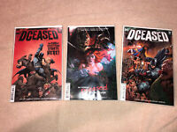 DCEASED #1,2,3 (OF 6) HORROR VARIANT COVER DC COMIC BOOKS BATMAN WONDER WOMAN