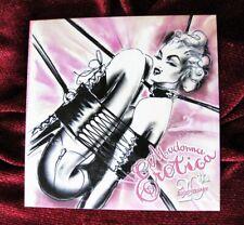 MADONNA # 21 SEALED EROTICA SEX BOOK INVITE PICTURE DISC RECORD PROMO POSTER LP