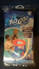 Pool Play Game Center H2O Go!Basketball Hoop & Rings Ages 3+ New Bestway