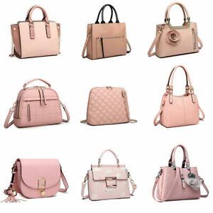 Women Chain Shoulder Cross Body Bag Fashion Ladies Faux Leather Tote Handbag