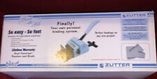 Zutter Bind-It-All Hole punch Binding system Bundle New Blue