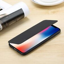 Genuine Slim Leather Flip Wallet Case TPU Stand Cover For iPhone X 6S 7 8 Plus