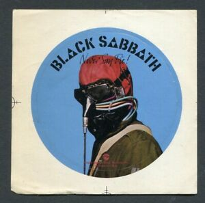 1978 Black Sabbath Ozzy Never Say Die Warner Brothers Records Promo Sticker