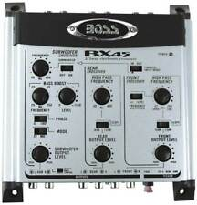 Boss Audio Bx45 2/3-way Electronic Crossover With Remote Subwoofer Level