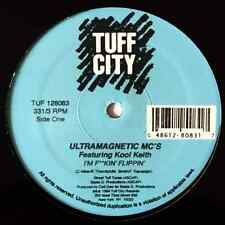 "ULTRAMAGNETIC MC'S FT KOOL KEITH ‎- I'm F**kin' Flippin' (12"") (G++/NM)"