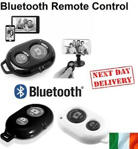 Bluetooth Remote Control Camera Selfie Shutter For Apple iPhone Android Samsung