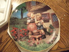 M.I. Hummel Plate Squeaky Clean Danbury Mint Little Companions Collection