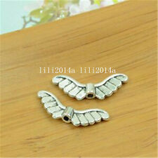 20pc Tibetan Silver Angel wings Spacer Beads Accessories Wholesale PL800