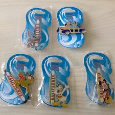 Disney California Surfboard Soda Fountain Pin Set LE 300