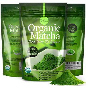 Organic Matcha Green Tea Powder 100% Pure Matcha  4oz