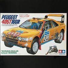 [Very Rare] 1/24 Peugeot 405T 16GR 90 Paris-Dakar Rally Winner Tamiya