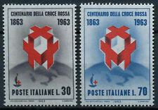 Red Cross Postage Italian Stamps