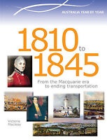 AUSTRALIA YEAR BY YEAR 1810 to 1845 - BOOK  9780864271211