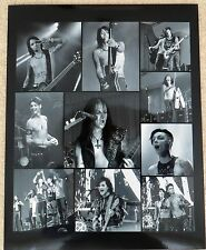 Black Veil Brides black and white collage photo poster print