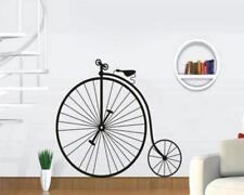 Wandtattoo Wandsticker Wandaufkleber Vintage Fahrrad Black Hochrad 100 x 60 W148