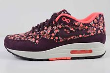 Nike Women's Air Max 1 Lib QS Liberty Burgundy Mango 540855 600 Size 7.5 New