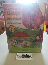 B Equal Curious George DVD GAME  factory sealed brand new with figure
