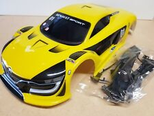 1/10 RC car 190mm / 200mm on road drift Renault Body Shell Yellow