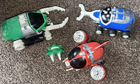 3 X BANDAI SPACE VEHICLES SHIPS 1992 ETC SPARES REPAIRS X 3  Power Rangers ?