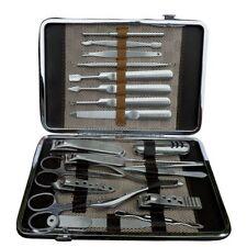 Kits et outils argenté pour manucure et pédicure