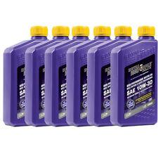 Royal Purple 01130 SAE 10W-30 RP Series Synthetic Oil - (6) 1 Qt Bottles