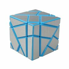 Blue-Silver Ghost Cube 3x3 Puzzle Cube Magic Cube
