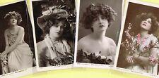 ☆ EDWARDIAN THEATRE ACTRESS / DANCER - GABRIELLE RAY ☆ 1900s Postcards LIST 45