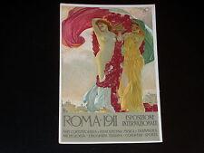 CPA - ILLUSTRATEUR - ALEARDO TERZI - EXPOSITION INTERNATIONALE ROME 1911