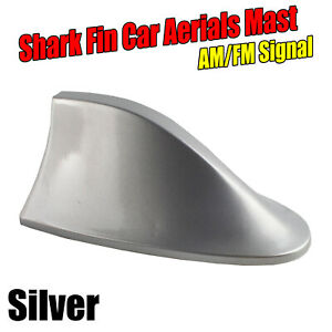 For Toyota C-HR RAV4 Kluger Silver Auto Shark Fin Antenna Stereo Cover Replace