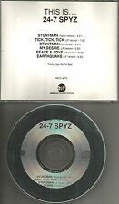 24-7  24 7 This is ULTRA RARE 6 TRK SAMPLER w/ RARE EDIT PROMO DJ CD Single 247