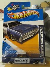 Hot Wheels '64 Lincoln Continental HW Main Street Blue Police