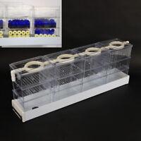 12pc Aquarium External Filter Trickle Drop Upper Fish Tank Water Box + Drip Tube