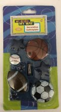 New Decorative Switchplate Sports Football Baseball Basketball Soccer Ball Stars