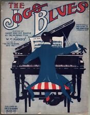 Jogo Blues 1913 W C Handy Large Format Sheet Music