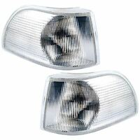 For Volvo C70 1996 - 2000 Front Indicators Clear 1 Pair O/S And N/S