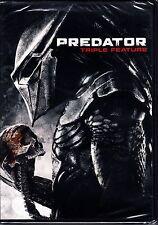 PREDATOR TRILOGY 1 2 3 BOXSET  3 DISC DVD ARNOLD SCHWARZENEGGER R1