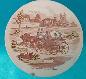 Decorative Plate Ceramic of Gien