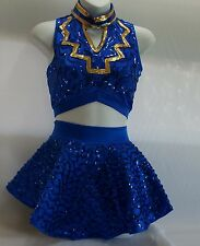 Dance (drill team) outfit for dancers, twirlers and skaters
