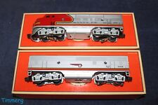 Lionel Trains 6-18128, 6-18129 Santa Fe F-3 A Pwr/ B Unit Diesel Locomotives **