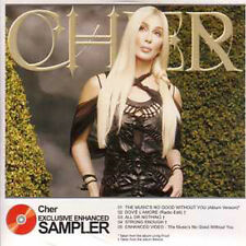 CD SINGLE CHER Exclusive Enhanced Sampler  CDSINGLE warner 2002 UK Neuf  RARE