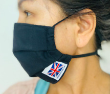washables face mask | filter pocket | nose wire elastic round head