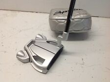 "TaylorMade Spider Tour Diamond Silver L Neck Putter 2019 Model 34"" 9/10"
