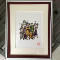 Dragon Ball Akira Toriyama Framed Duplicated Print Art Anime Rare F/S from Japan