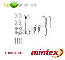 MINTEX REAR BRAKE SHOES SET FITTING KIT PIN SPRINGS GENUINE QUALITY - MBA795