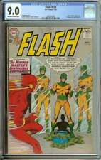FLASH #136 CGC 9.0 OW/WH PAGES