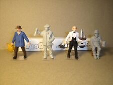 3  FIGURINES 1//43  SET 195   CHASSEUR  D/' OURS    VROOM   A  PEINDRE  UNPAINTED