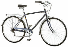 Schwinn 700C Men's Wayfarer 7 Speed Retro Bike Bicycle - Blue