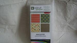 Cricut Imagine Cartridge - ANCESTRY - Complete - BRAND NEW!  Never Opened