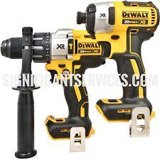 DeWALT DCD996 20V XR 1/2 Hammer Drill DCF887 20 Volt 3-Speed Brushless Impact